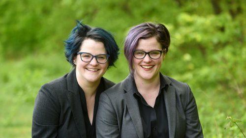 Twins Emily Nagoski and Amelia Nagoski.