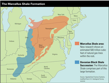 Fracking New York State Map.Researchers Work To Fingerprint Hydrofracking Water Quality