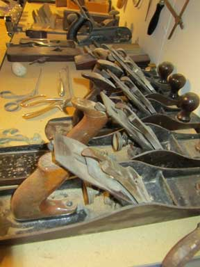 wood plane handtools