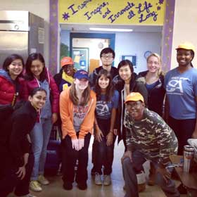 SU Impact at Samaritan Center
