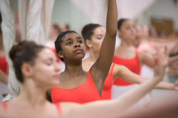 Jenna Artist of Williamsville, N.Y., participates in the SU Summer Dance Intensive Program.  The program will hold a free dance performance Saturday, July 27, from 1-2 p.m. at Syracuse Stage.