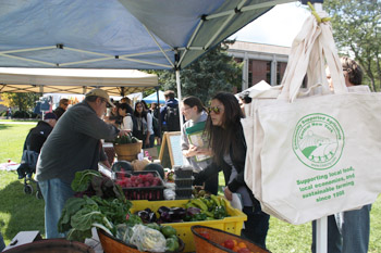More than 300 campus members attended the 2012 Apple Festival.