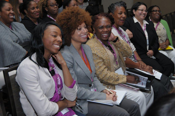 Participants enjoy last year's V-WISE Entrepreneurship Training Conference.
