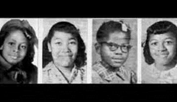 The four victims of the Sixteenth Street Church bombing