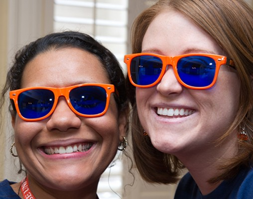 2012 Orange Central participants sport SU sunglasses.