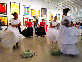 The Bomba and Plena Dance Troupe at La Casita.