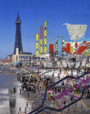 Archigram Intervention, Blackpool, England