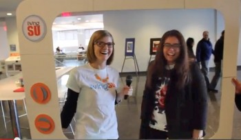 The LivingSU team asks students to share good news.