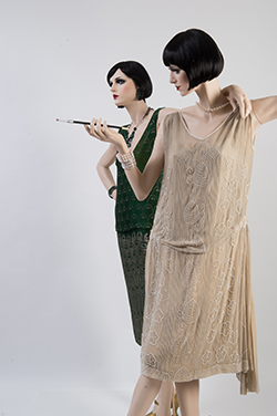 Cocktail dresses from the Genet Costume Collection