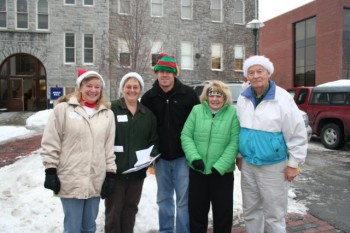 SU's Holiday Sharing elves are ready to get to work, collecting gifts and food for local families this holiday season.