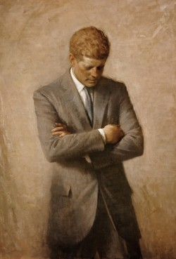 Official White House portrait of  President John F. Kennedy Image source: Wikimedia Commons
