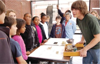 Noyce Internships are for four weeks during the summer and involve working with K-12 science and mathematics learners.