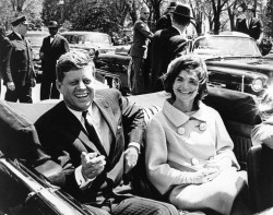 JFK and Jackie Kennedy in 1961 Image source: Cecil Stoughton