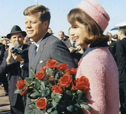 November 22, 1963: Love Field Image source: John F. Kennedy  Presidential Library and Museum