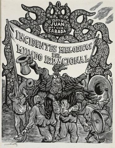 """Leopoldo Mendez, """"El gran recibimiento"""" 1945"""
