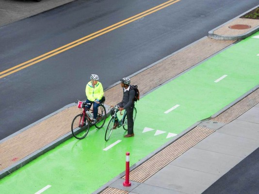 The Syracuse Connective Corridor was cited for its mixed-use bike-friendly  atmosphere.