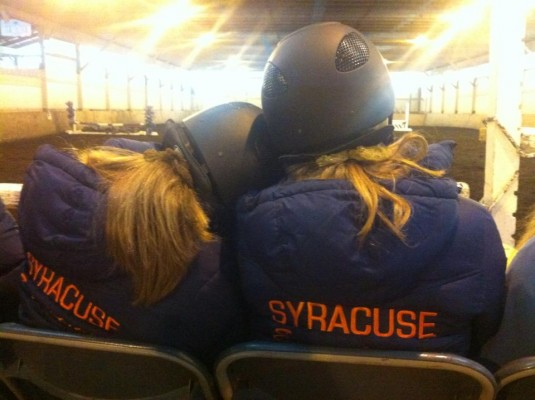 Members of the SU Equestrian Club share a passion for riding.