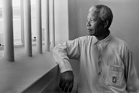 Nelson Mandela served 27 years in prison before becoming South Africa's first black president.