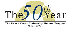 Honors student Nick Jones designed the program's 50th anniversary logo.