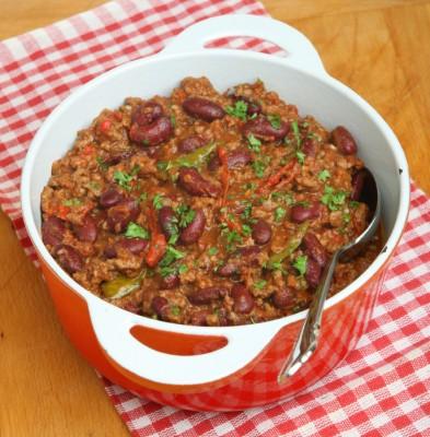 Chilli Con Carne in Serving Dish