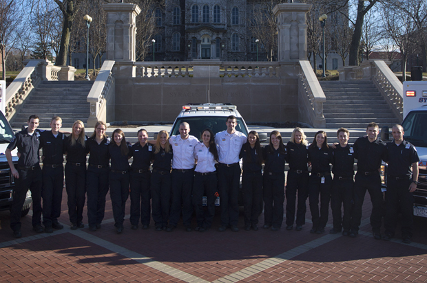 Syracuse University Ambulance crew members, 2014