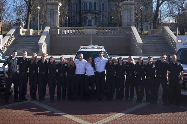 Syracuse University Ambulance crew members, 2014