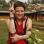 Eve Ensler (photo by Paula Allen)