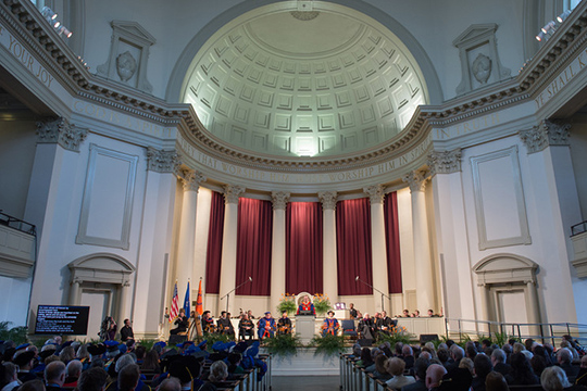 Into A New Era Syracuse University Inaugurates 12th Chancellor And