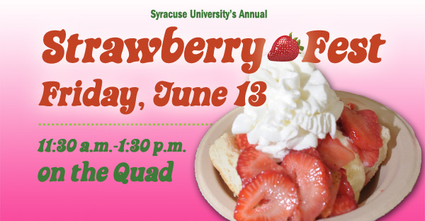 Strawberry Fest Friday June 13