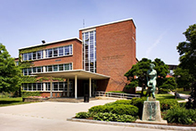 Hinds Hall, home of the School of Information Studies
