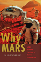 "The cover of Lambright's new book, ""Why Mars"""