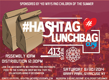 Please Join Us For The Hashtaglunchbag Syracuse Edition