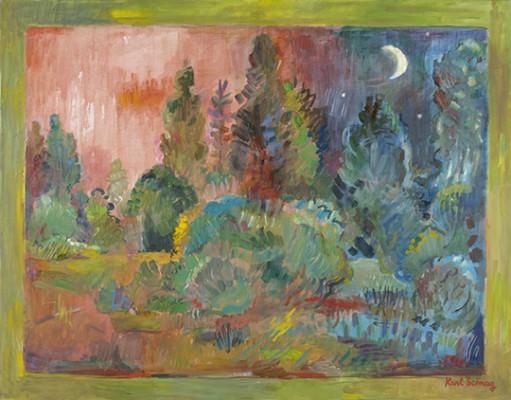 "Karl Schrag, ""Vanishing Day"" (second version), c 1990, Courtesy of Karl Schrag LLC"