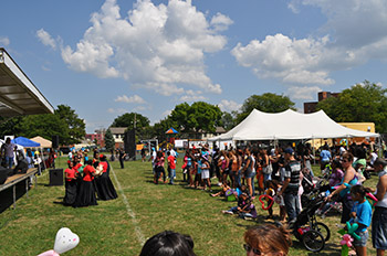 Last year's Multicultural Block Party