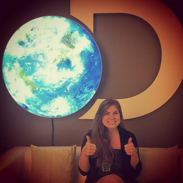 Senior Shira Stoll spent her summer interning at Discovery Communications.