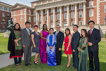 The 2014-2015 Humphrey Fellows