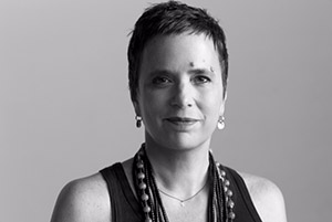 Eve Ensler (Photograph by Brigitte Lacombe)