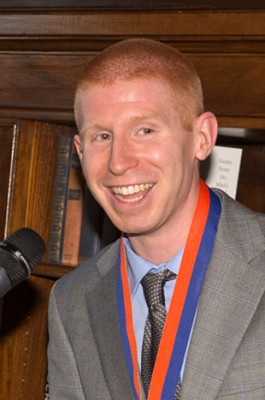 National Science Foundation Fellow David Wilson, a 2014 graduate in biomedical engineering