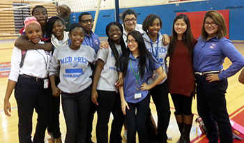 Tesia Kim and studentsTesia Kim '13, second from right. with some of her high school students in Chicago