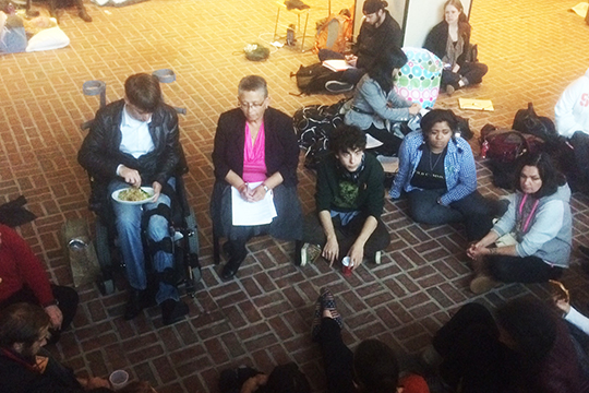 Dean Bea Gonzáles continues meetings with students of THE General Body.