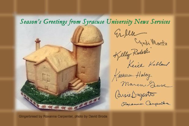 Holden Observatory, expressed in gingerbread