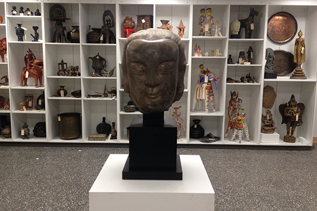 The new Collette Ethnographic Gallery at SUArt Galleries
