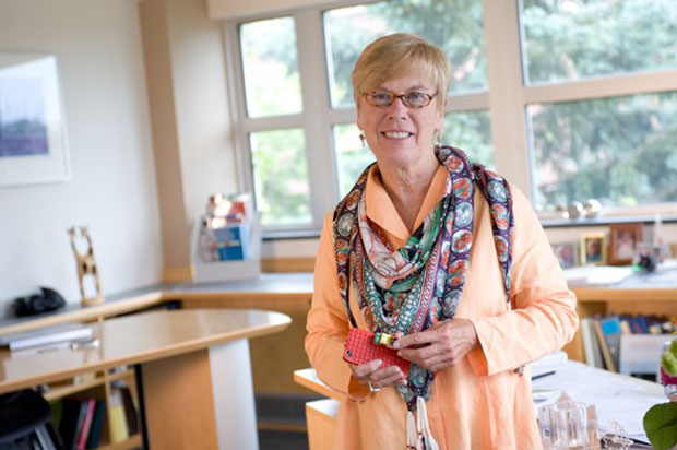 Elizabeth Liddy has been at the iSchool for 25 years. Now she has moved on to serve the larger campus.