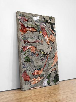 """Letha Wilson, """"Utah Maine Concrete Slab,"""" 2013"""
