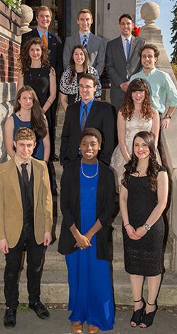 The 2015 University Scholars