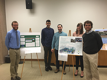 Co-winners for the competition included Dan Olken, Afnan Ahmed, Alex Selden, Jessica Culver and Lukas Vogt.