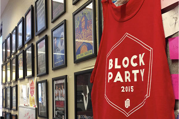 2015 Block Party tank is latest addition to University Union's wall of accolades.