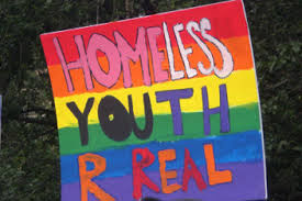 LGBTQ youth often become homeless because asdfasdfasdasdg