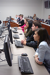 Computer purchase is another area where the Whitman students have been evaluating ways in which the University could save money