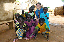 Jacqueline Gerson spent two and a half years in the Peace Corps serving the people of Senegal.